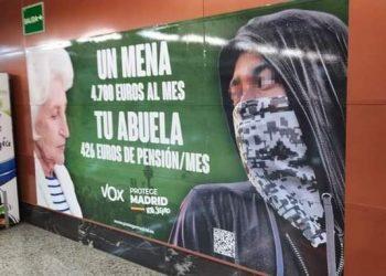 CEDRE prepara una demanda contra Vox por incitación al odio a raíz de su propaganda electoral racista contra la infancia migrante