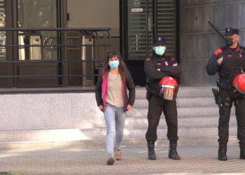 Ante la detención de seis sindicalistas del sindicato LAB tras participar en diferentes protestas