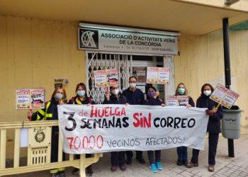 Inspecció de treball es persona d'urgència a Correos per possible vulneració de drets fonamentals