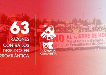 «Ante los 63 despidos en Hidro Nitro (Ferroatlántica del Cinca)»