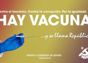 """Isabel Maroto, PCE: """"Hay vacuna contra la corrupción y por la igualdad. Se llama República"""""""