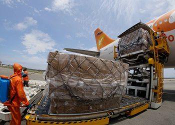 Venezuela recibe decimotercer cargamento de insumos médicos provenientes de China para combatir el COVID-19