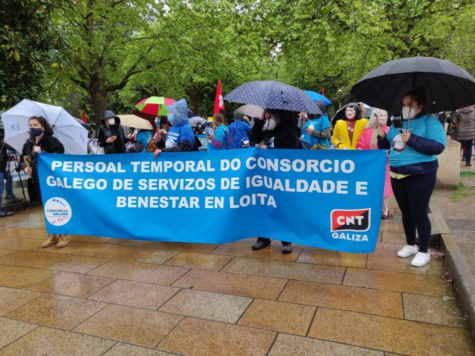 Incremento de la huelga en el Consorcio Galego de Servizos de Igualdade e Benestar