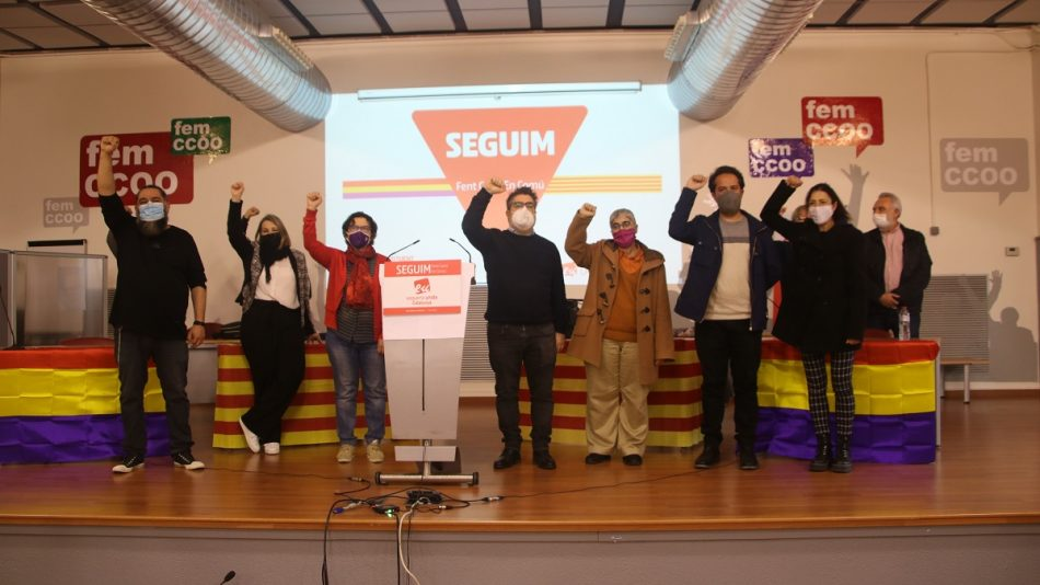 EUCat ha celebrat aquest 10 d'abril la fase final de la seva Assemblea Constituent sota el lema «Seguim fent camí en comú»