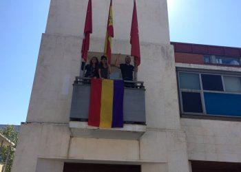 Unidas Podemos en Rivas reivindica los valores que inspiraron la II República en el 90 aniversario de su proclamación