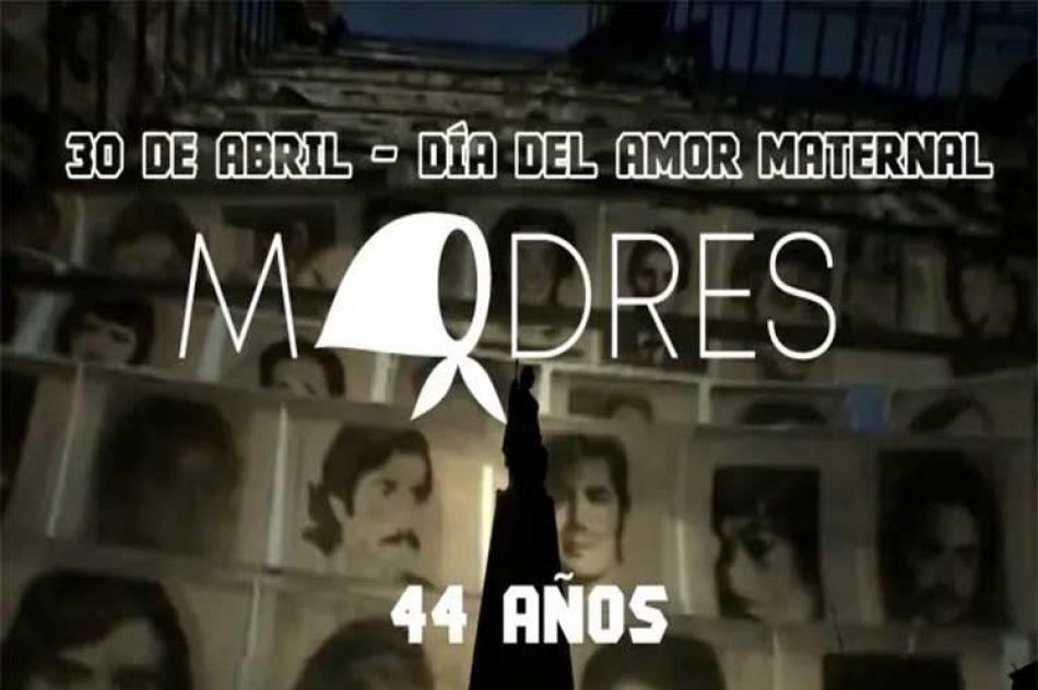 Madres de Plaza de Mayo conmemorarán 44 años de lucha