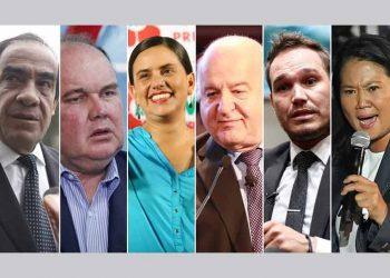 Candidatos cierran ajustada competencia electoral en Perú