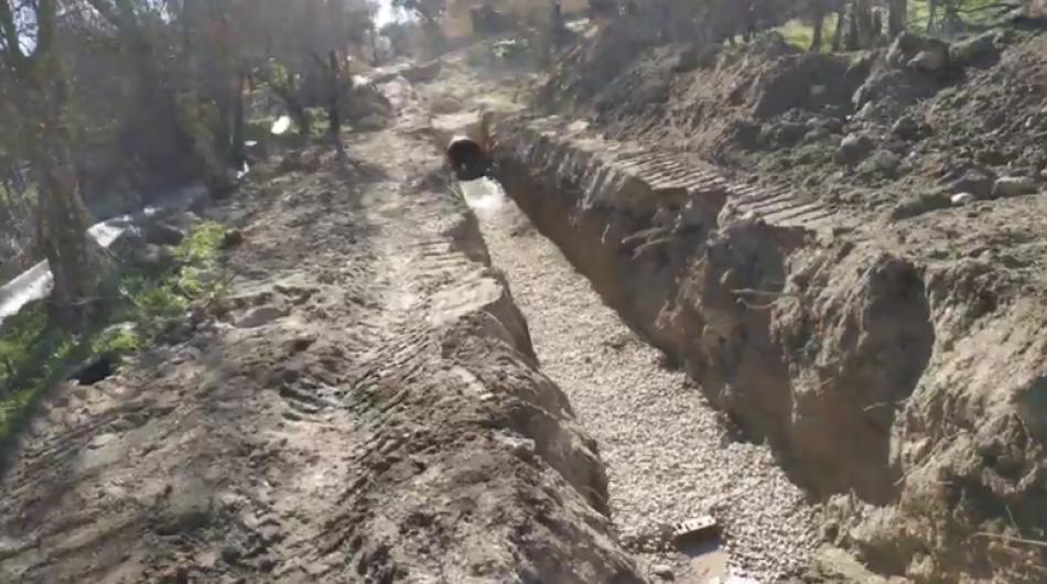 El Canal de Isabel II irrumpe en una propiedad privada y arrasa un bosque protegido