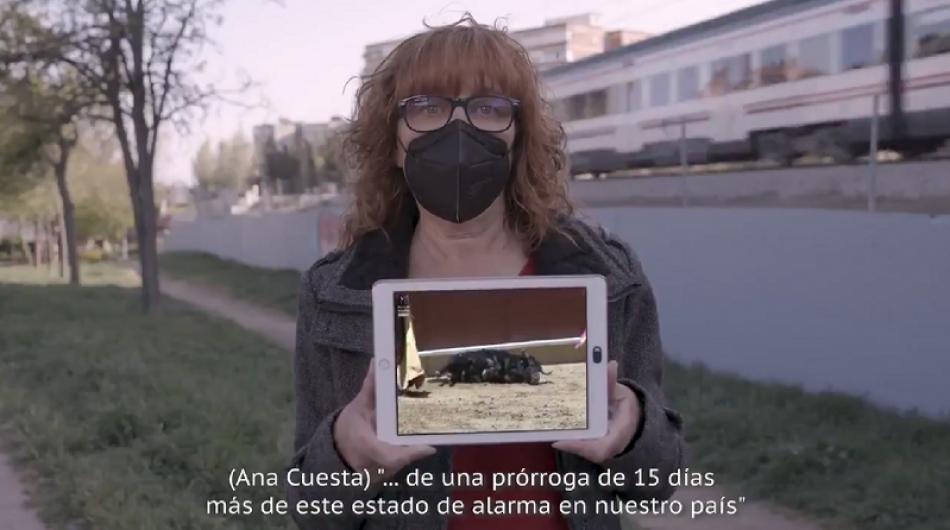 El Partido Animalista da voz en su vídeo electoral «a todos los animales ignorados por el resto de partidos políticos»