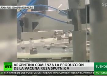 Argentina, primer país en América Latina en empezar la producción de la vacuna rusa Sputnik V