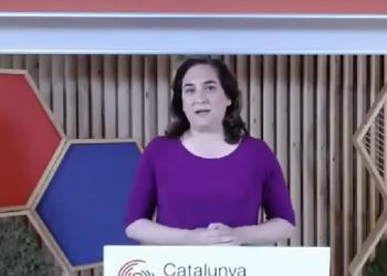 Ada Colau: «Basta ya de normalizar al fascismo y de banalizar a la extrema derecha como si fuese una opinión más»