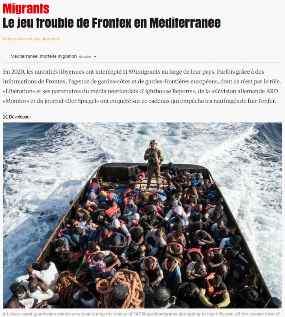 """Sira Rego: """"Si la Comisión no echa a Leggeri por la complicidad de Frontex en las devoluciones a Libia, a lo mejor es Johansson la que tiene que pensar en dimitir"""""""