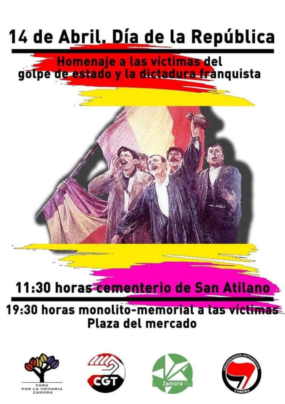 Zamora: 14 de Abril, Día de la República