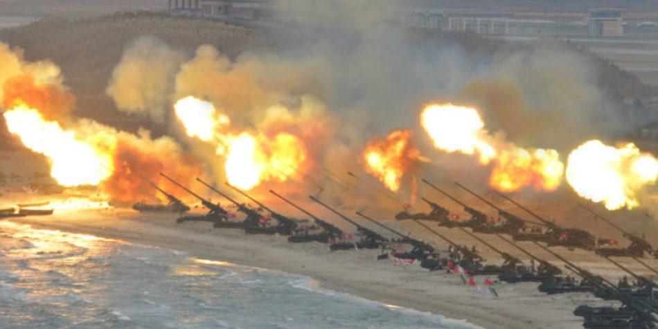 Declaración contra la escalada militarista de los EEUU en la Península de Corea