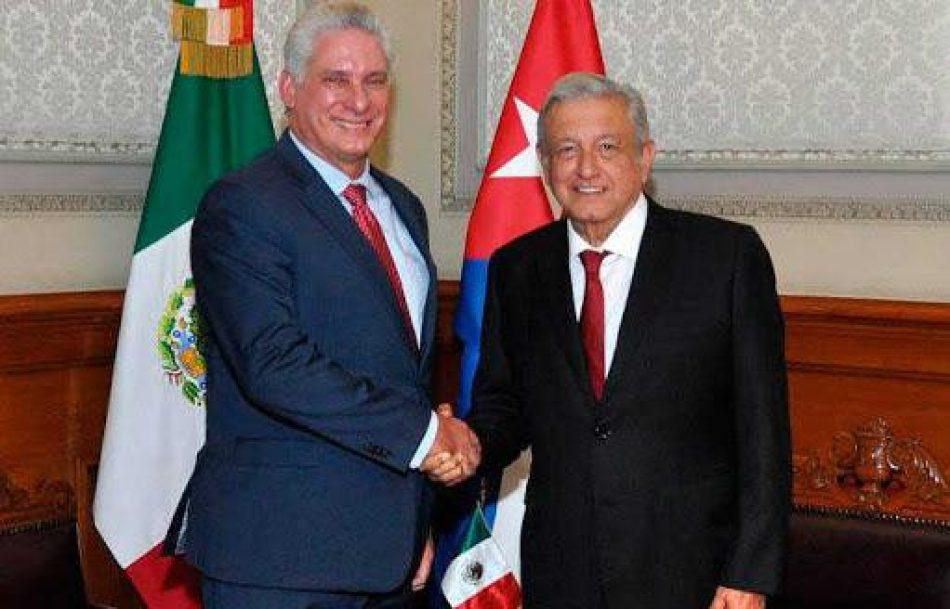 La solidaridad tiende puentes de gratitud entre México y Cuba
