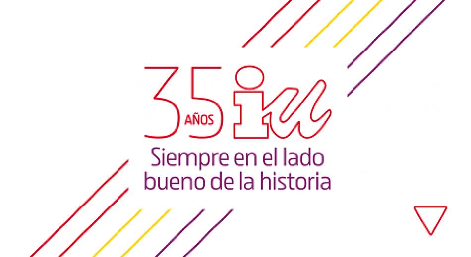 Izquierda Unida pone en marcha la campaña '35 Años IU. Siempre en el lado bueno de la historia' coincidiendo con la fecha exacta de su nacimiento