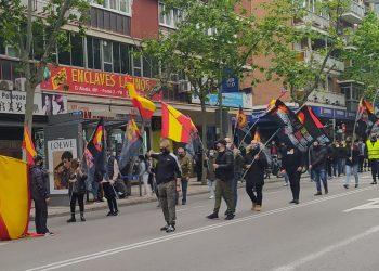 """El movimiento vecinal de Ciudad Lineal y San Blas ante la manifestación por la seguridad del sábado: """"¡No te dejes engañar, no son vecinos, son nazis!"""""""