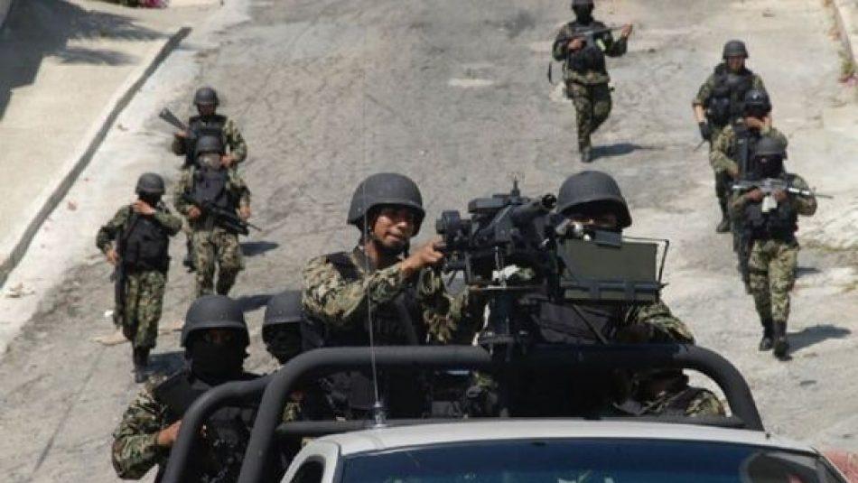 Apresan a 30 militares por desaparición forzada en México