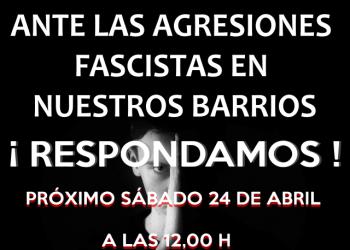Ataque a un miembro de Barrios Hartos: «Muerte a los rojos, maricones, viva España»