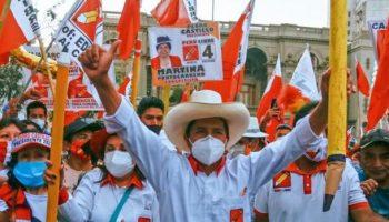 El discurso saludando la victoria: Pedro Castillo habla desde abajo para los de abajo en Perú