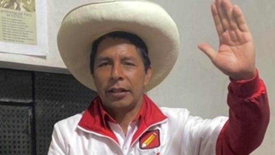 ALBA Movimientos junto a Pedro Castillo: por una victoria popular para derrotar al neoliberalismo