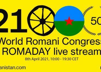 El comité de activistas gitanos 'Romanistán' organiza una gran celebración para conmemorar el 50 aniversario del Congreso de Londres
