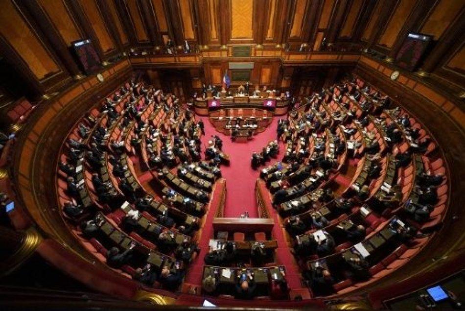 Senado italiano aprueba moción contra bloqueo de EE.UU. a Cuba