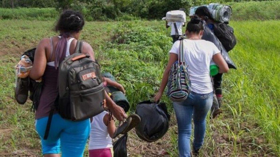Indepaz alerta sobre aumento progresivo de desplazados en Colombia