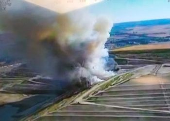 Comienza el juicio por el incendio del vertedero ilegal de Villa de Vallecas de 2015
