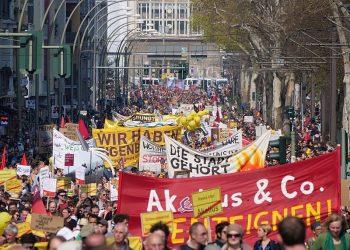 IU Berlín lamenta que el Tribunal Constitucional «tumbe» el Mietendeckel