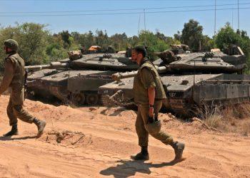HAMAS destruye un tanque israelí utilizando misil ruso ATGM