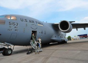Informe: Avión de EEUU entrega un cargamento secreto a Israel