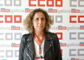 Amelia Pérez, nova secretaria xeral do Sindicato Nacional de CCOO de Galicia