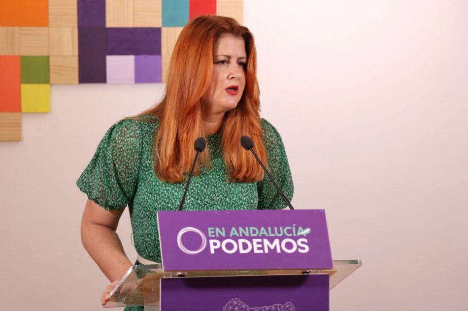"""Podemos Andalucía carga contra """"el deterioro de los servicios públicos"""" y """"desmantelamiento"""" de la escuela pública que lleva a cabo el Gobierno de Moreno Bonilla"""