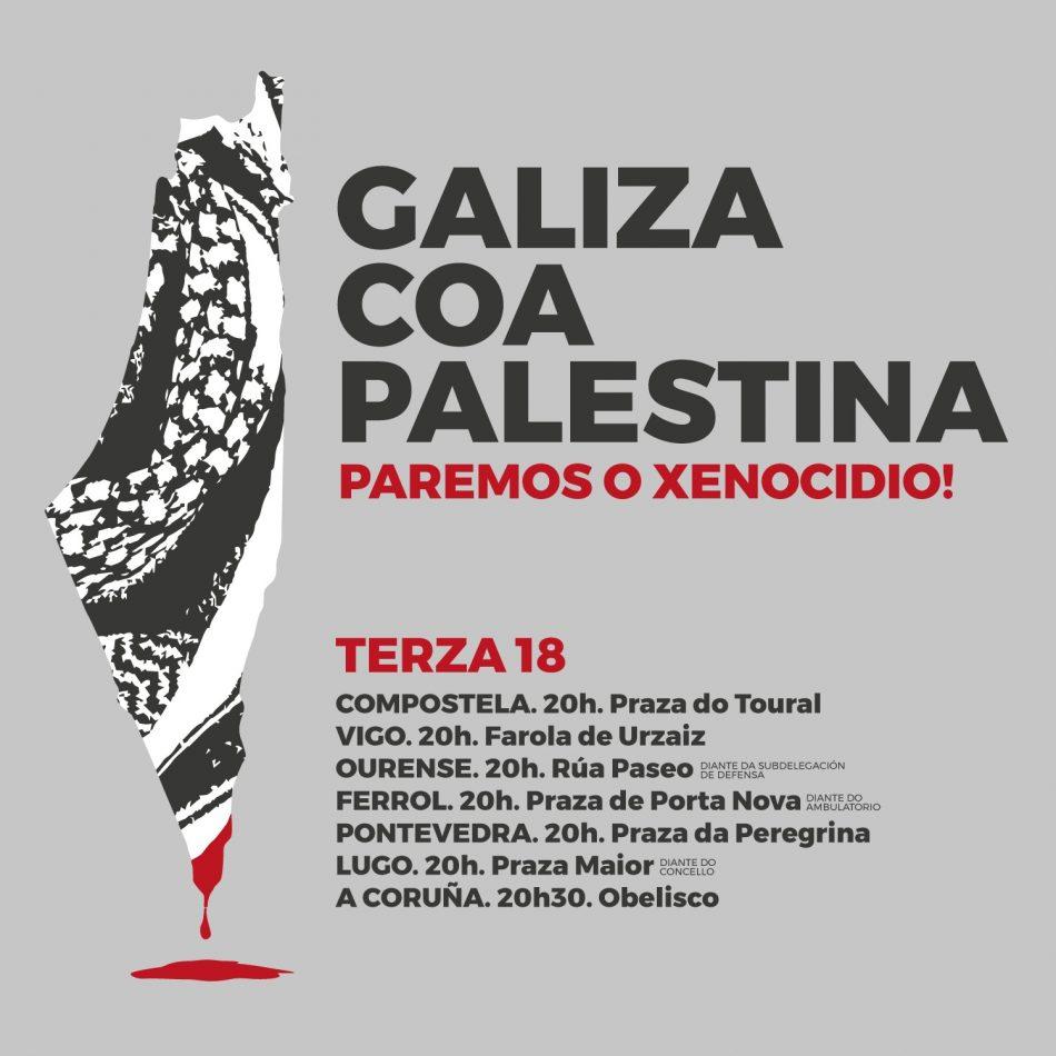 BNG exixe ao Goberno español sancións contra Israel por crimes de guerra contra a poboación palestina