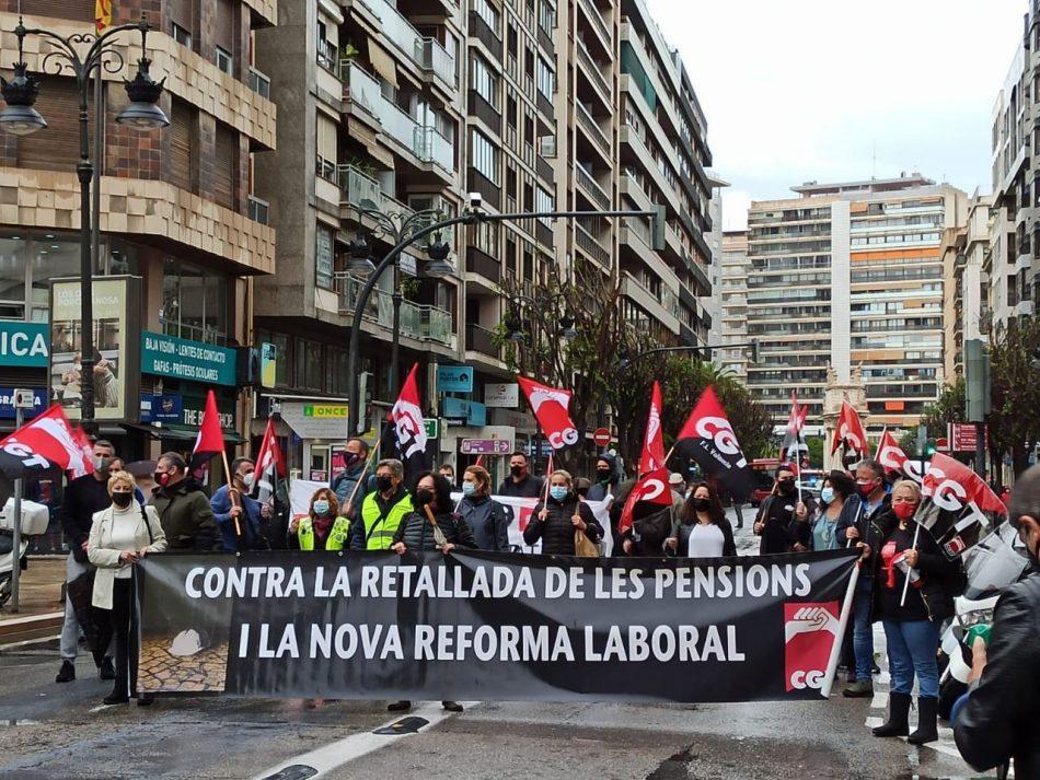 CGT torna a convocar per la derogació de les reformes laborals