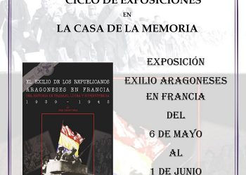 Ciclo de exposiciones y documentales continua en la Casa de la Memoria de Zaragoza