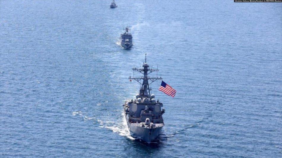 EEUU no descarta enfrentamientos bélicos con Rusia en el mar Negro