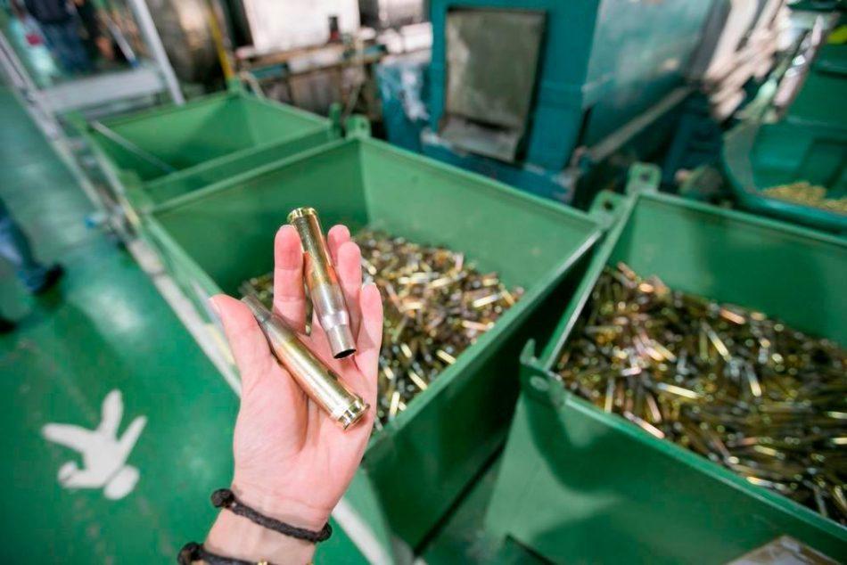 Unidas Podemos pregunta al Gobierno sobre la fábrica de armas de Nammo Palencia