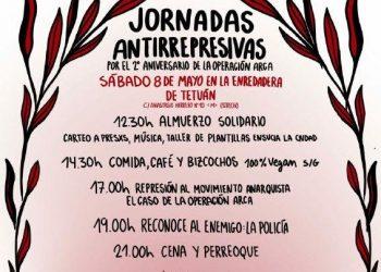 Jornadas antirepresivas por el segundo aniversario de la «Operación Arca»