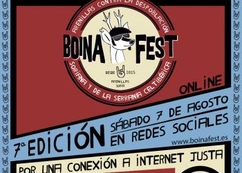 El 1er festival contra la despoblación Boina Fest 2021 volverá a ser online y reivindica un acceso a Internet justo