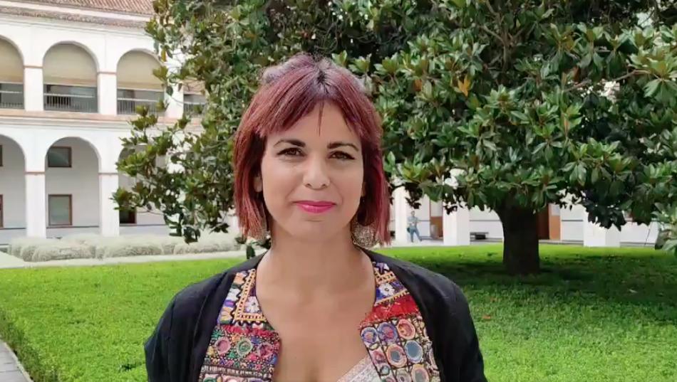 Teresa Rodríguez critica al Gobierno andaluz por destinar dinero de guarderías a partidos de fútbol