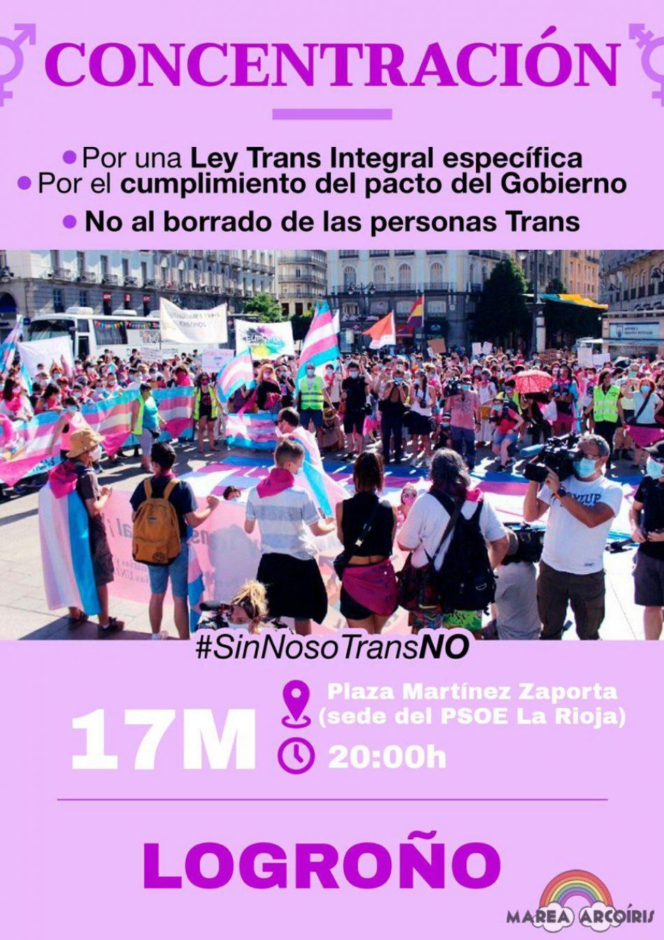 Marea Arcoíris se manifestará hoy,17 de mayo, frente a la sede del PSOE