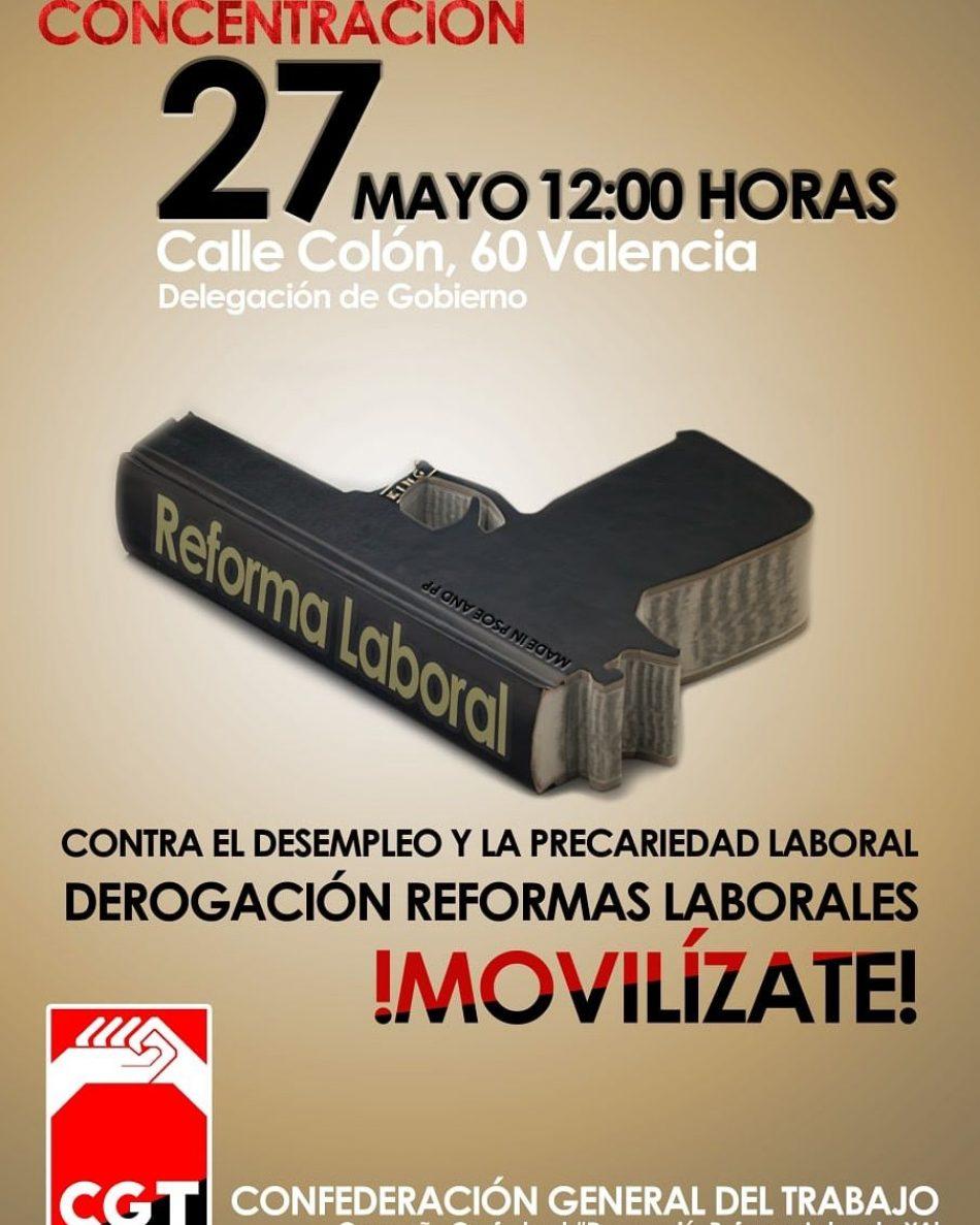 CGT vuelve a convocar por la derogación de las reformas laborales
