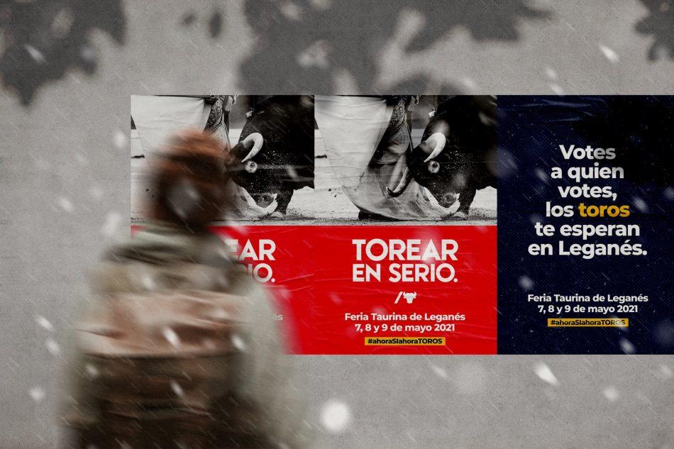 Asociación Colectivo Animalista de Leganés denuncia un festejo taurino en pandemia