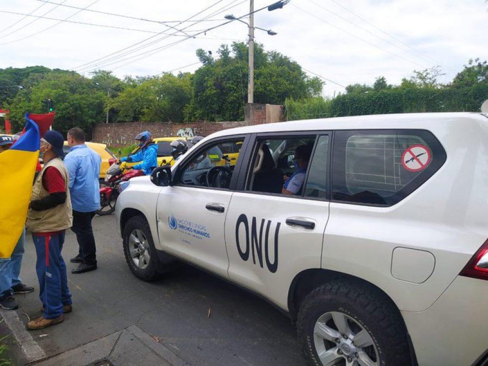 ONU denuncia amenazas, agresiones y disparos por parte de la Policía contra una de las Comisiones en Colombia