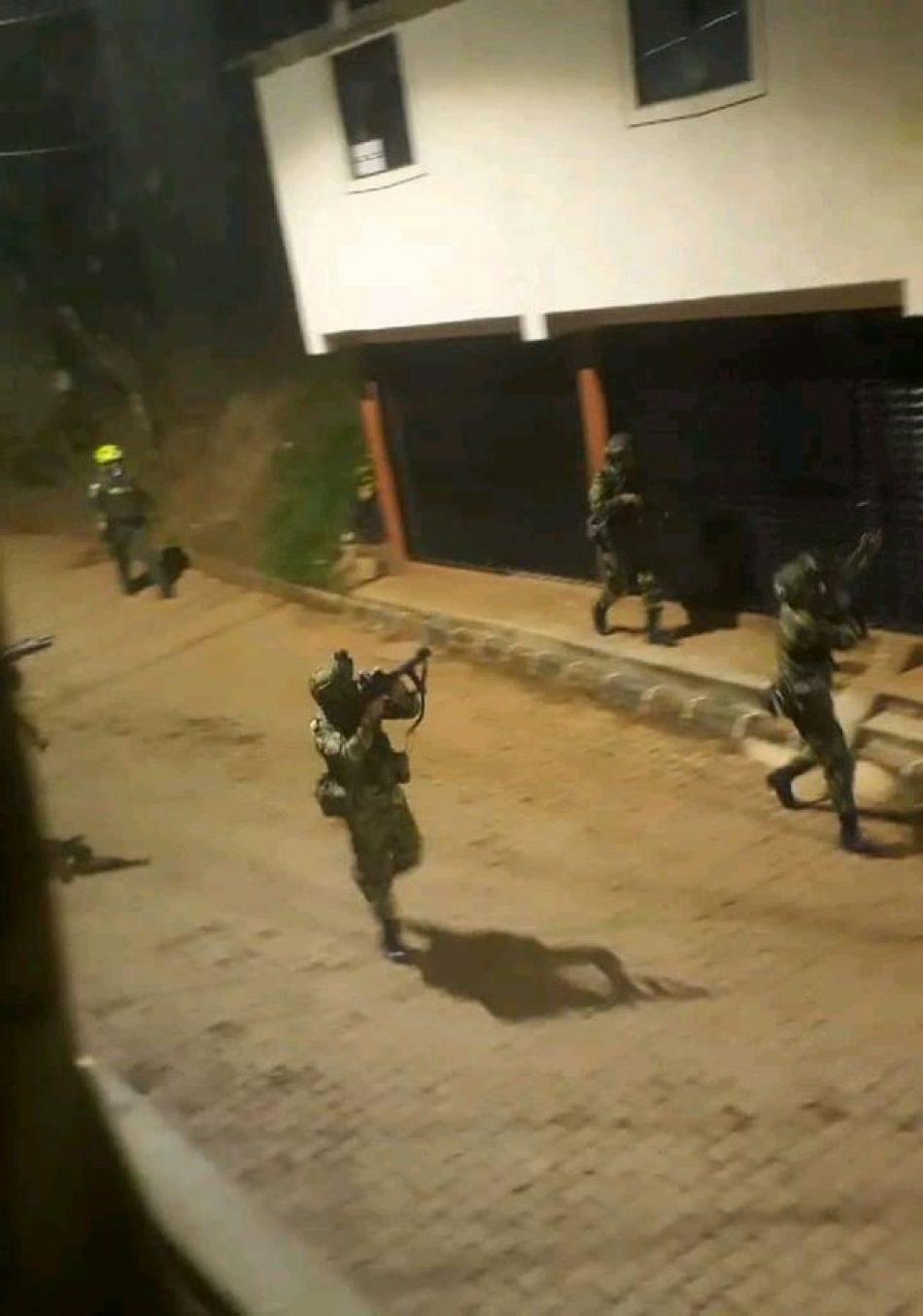 """Izquierda Unida muestra su """"absoluta condena"""" ante la """"brutal represión"""" orquestada por el Gobierno de Iván Duque contra el pueblo colombiano"""
