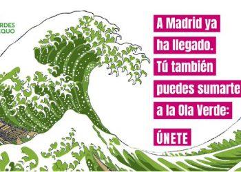 Verdes Equo asume el compromiso de trasladar la ola verde de Madrid a toda España