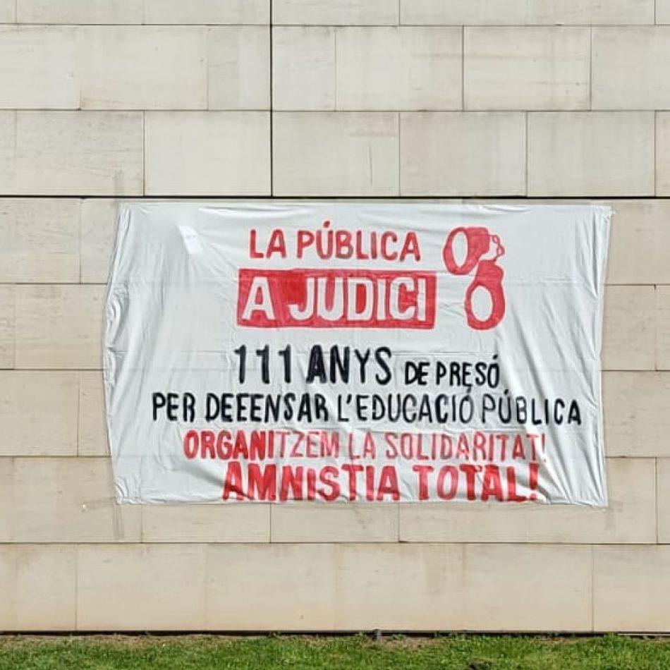 Nova pressió estudiantil; el 29 de maig, manifestació per l'absolució de La Pública a Judici