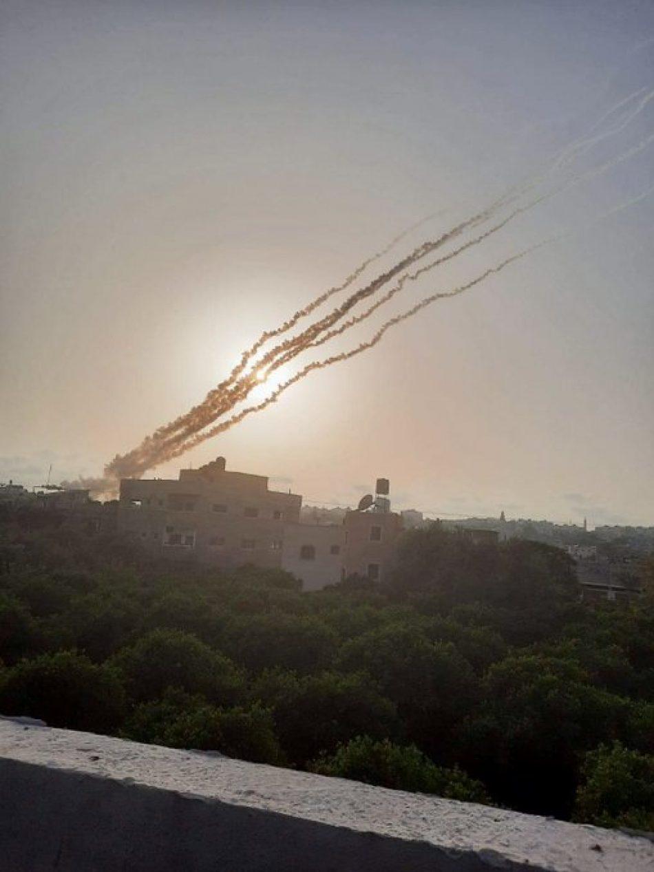 HAMAS lanza misiles contra posiciones de Israel en Jerusalén